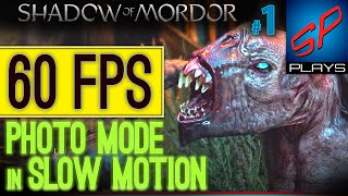 Shadow of Mordor in 60 Frames Per Second In Smooth Slow Floating Camera