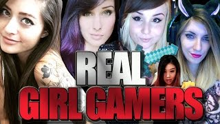 REAL GIRL GAMERS On Twitch And Youtube! (2MGoverCsquared, Kiwo & More!)