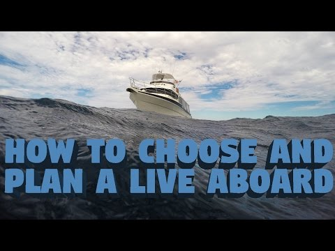 How To Choose And Plan A Liveaboard