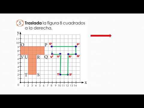 Transformaciones En El Plano Cartesiano Traslación De Figuras Geométricas 4to De Primaria Youtube