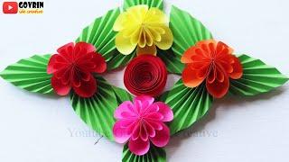 Flower Wall Hanging   Ide Kreatif Hiasan Dinding Bunga Hias Cantik Cocok Untuk Dekorasi