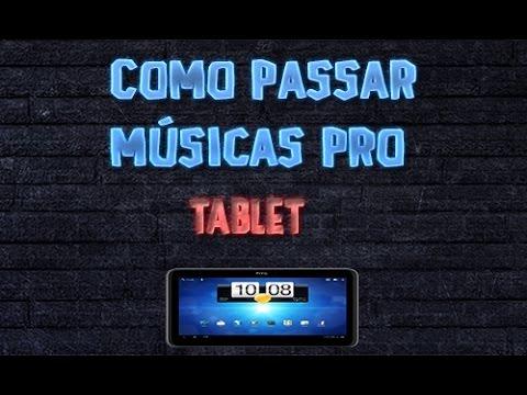 FOSTON BAIXAR MUSICAS NO TABLET