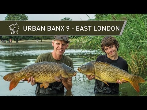 CARP FISHING IN LONDON Urban Banx 9 - East London