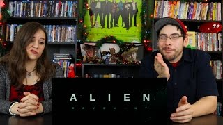 Alien COVENANT - First Official Red Band Trailer Reaction / Review