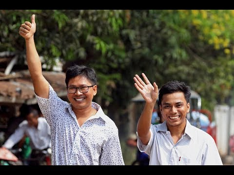 Why These Reporters Spent 18 Months In A Burmese Jail