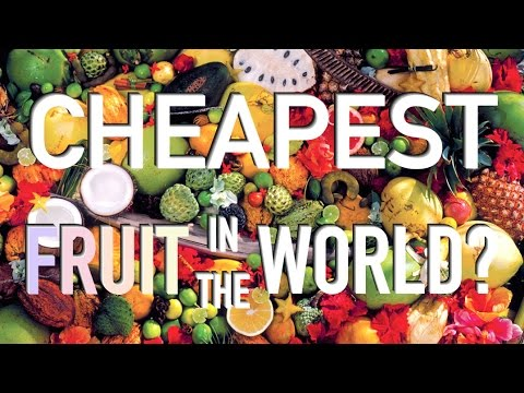 BRAZIL - CHEAPEST FRUIT IN THE WORLD?