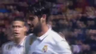 Gol de ISCO Osasuna vs Real Madrid 1-2   [La Liga] 11/02/2017