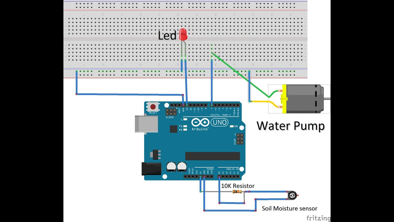 How to build an Automatic Watering System For Plants  Arduino Uno  DIY  TUTORIAL