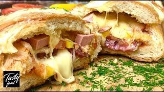 как сделать бутерброд из батона