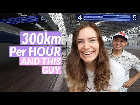 Bullet Train In China 🚅 | Shanghai To Chengdu 🐼| Bullet Train Travel Vlog