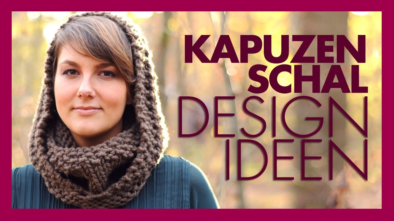 Kapuzenschal Designideen für Kinder, Männer, Unisex - YouTube