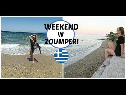 Weekend w domku przy plaży | Zoumperi - Nea Makrh #2 VLOG | Summer Greece