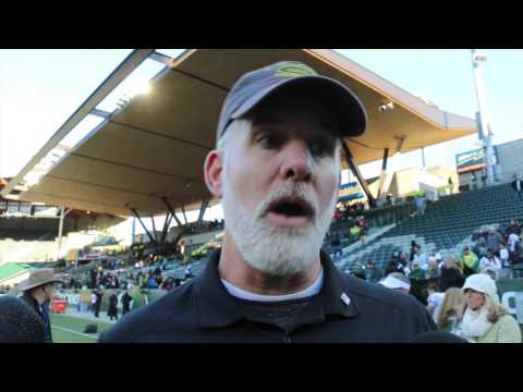 West Linn coach Chris Miller recaps the Lions 51-7 win over Sherwood in the 6A semifinals
