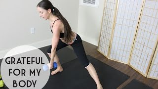 18 minute interval cardio home workout - Safe for diastasis post partum moms