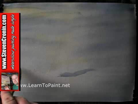 Loch Goil Watercolour Painting Demonstration Part 1