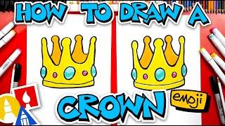 How To Draw A Crown Emoji