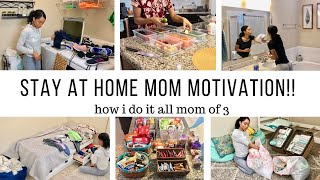 SAHM MOTIVATION // CLEANING MOTIVATION, DECLUTTERING, & ORGANIZING // Jessica  Tull cleaning