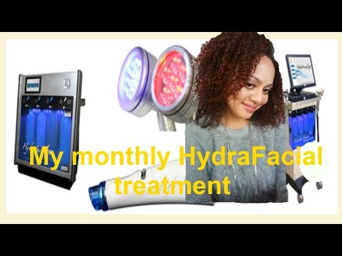 SkinCare Demo: HydraFacial Process( My monthly treatment)