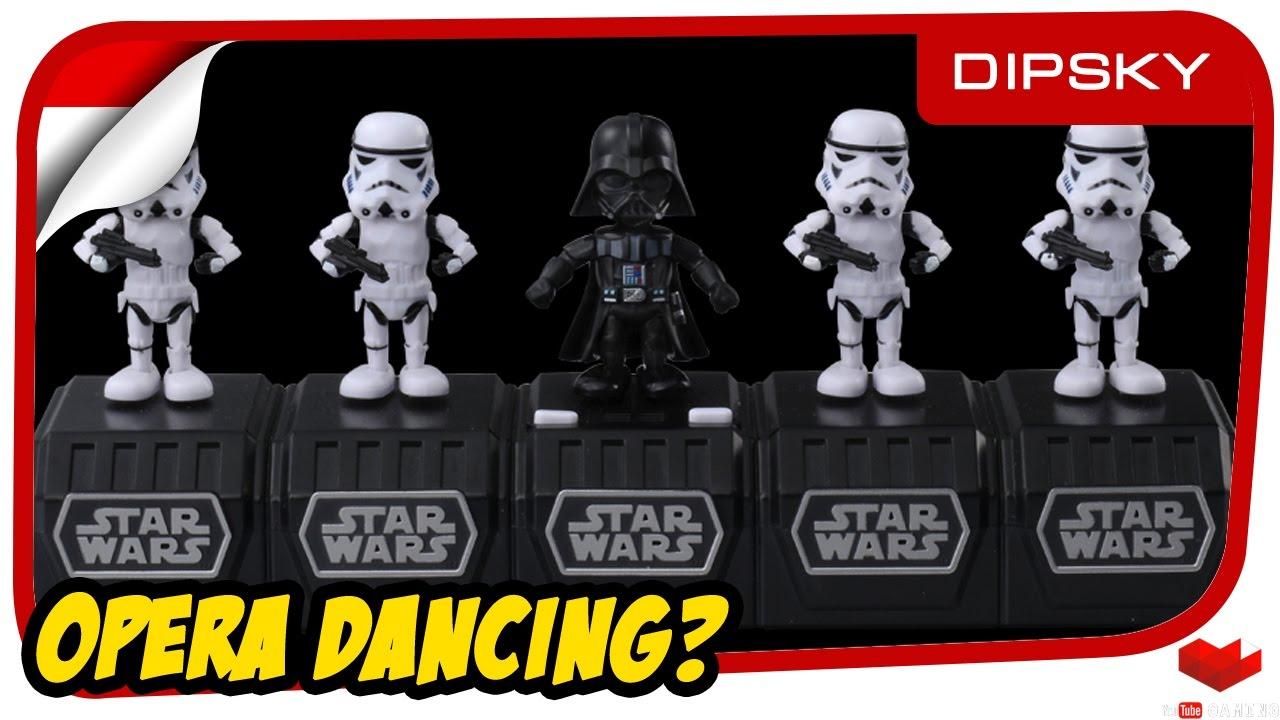 TAKARA TOMY STAR WARS SPACE OPERA Boba Fett Dancing Music Toy from Japan