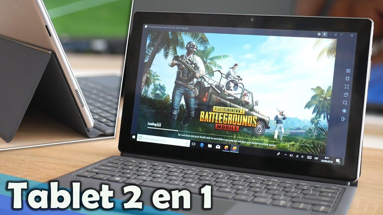 La tablet convertible con PANTALLA GIGANTE, Alldocube KNote 5 - YouTube 86396aeb28bd