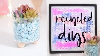 DIY Room Decor Projects Using Recycled Items! Room Decor for Spring 2017