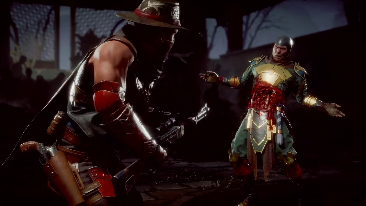 Erron Black Mortal Kombat 11 Fatalities Guide - Inputs List