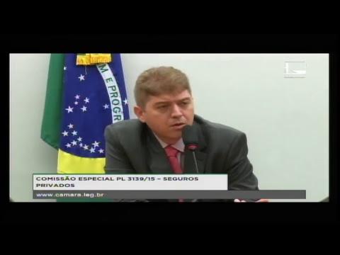 PL 3139/15 - SEGUROS PRIVADOS - Reunião Deliberativa - 17/04/2018 - 15:23