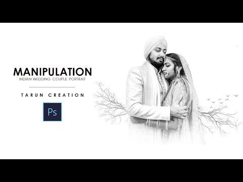 How To Edit Wedding Couple Photo | 5min Photoshop Manipulation Tutorial