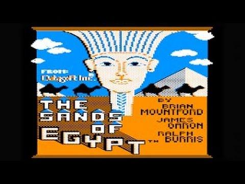 The Sands Of Egypt Walkthrough/longplay (Apple II - Datasoft)
