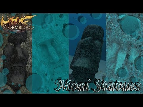 FFXIV: Moai Statues (Yes i pronounced it poorly)