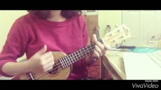 Mưa rơi lặng thầm cover by ukulele