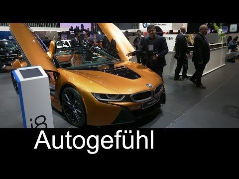BMW i8 Roadster REVIEW - NAIAS 2018 - Autogefühl