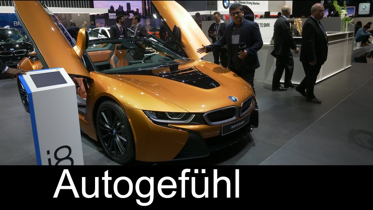 Bmw I8 Roadster Review Naias 2018 Autogefuhl Youtube