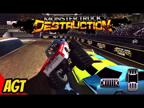 Monster Truck Destruction (by ODD Games) - Part 1 - Android Gameplay HD