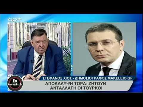 Δείτε πόσο ξεφτιλισμένη η διαπλοκή μεταξύ δημοσιογραφίας και πολιτικής:   Χίος >< καρατζαφέρης