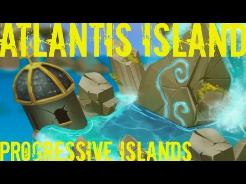 Monster Legends - Atlantis Island - Progressive Island