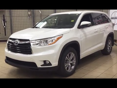 2016 Toyota Highlander Le >> 2016 Toyota Highlander LE Convenience Package Review - YouTube
