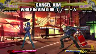 Naoto's moves are highlighted in this gameplay video for Persona 4 ...