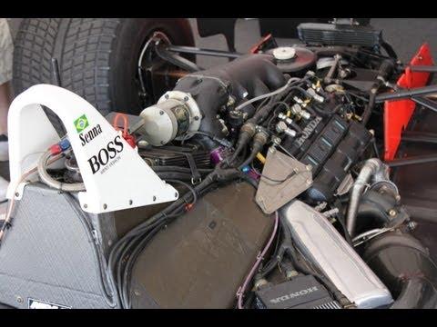 HONDAF1 Turbo Sound  Ayrton