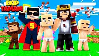 BALON BEBİŞ GERİ DÖNDÜ (EKİP TOPLANDI)  !! 😱 - Minecraft