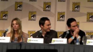 Big Bang Theory Comic Con 09 - Rock, Paper, Scissors, Lizard, Spock
