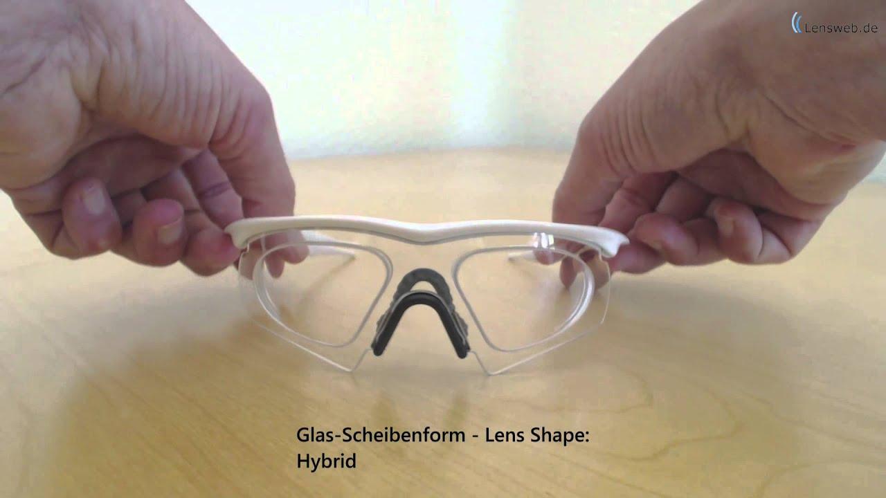 Oakley Arbeitsschutzbrille M Frame - Polished White - Hybrid - Clear ...