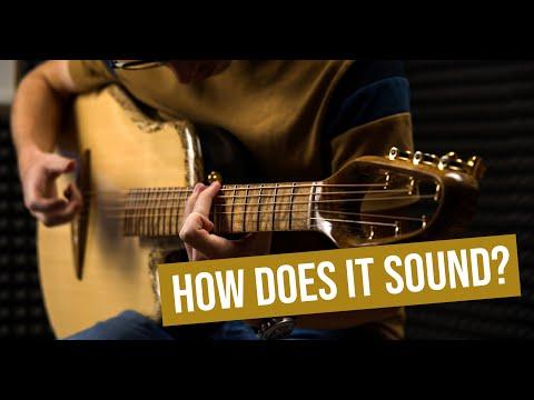 A Guitar Made From Hemp! | Canna Guitar