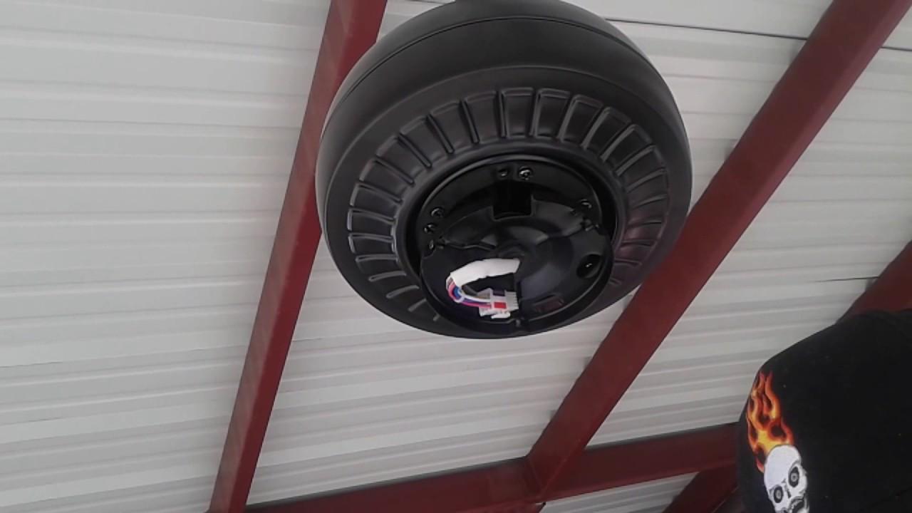 Instalacion de ventilador de techo con luz youtube - Instalacion de ventilador de techo ...