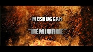 Meshuggah - Demiurge (8 Strings Full cover)