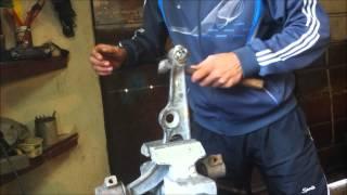 Реставрація важелів на Citroen Jumpy