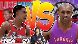 NBA 2K21 NEXT GEN CALVIN CAMBRIDGE vs VINCE CARTER!! LIKE MIKE ON 2K!