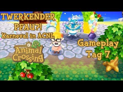 animal-crossing-new-leaf-gameplay---bürgermeister-#7---twerkender-pfau!-karneval
