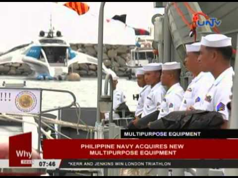 Philippine Navy acquires new multi-purpose equipment
