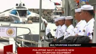 Philippine Navy acquires new multi-purpose equipment